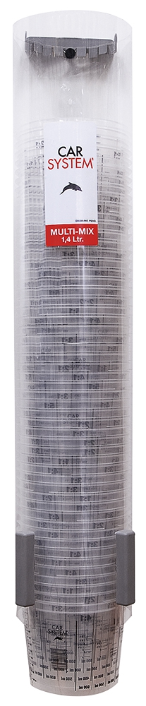 Multi-Mix kaplar için duvara monteli dispenser