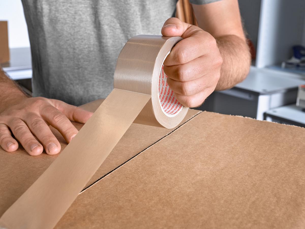NOPI® 64110, PVC-Flm Taşıyıcılı Bant 66 * 50 (Beyaz)