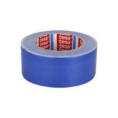 tesa® Standart PE Kaplı Bez Bant (Mavi) 50 * 50